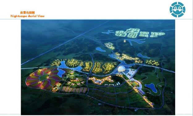 北海康福生态城概念规划设计