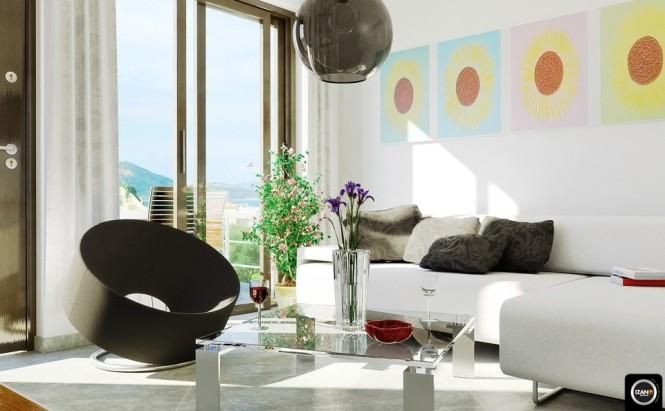 室内陈设家具与灯具的整体空间效果