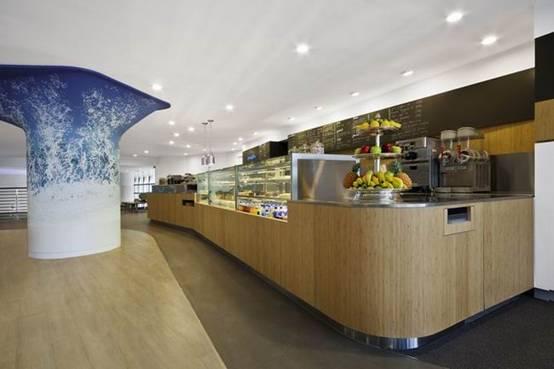 休闲会所设计--香港breakers咖啡厅