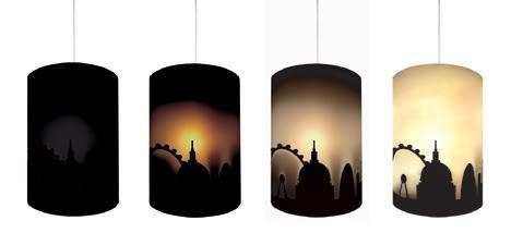 家居照明设计:热反应灯罩的Mimics
