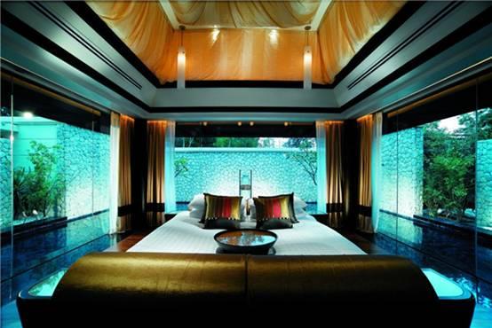 普吉岛悦榕庄酒店 Banyan Tree Phuket  独特的度假酒店设计