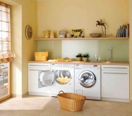 家居风水设计中洗衣机的陈列技巧 打造健康居家