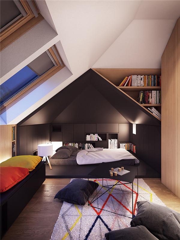巧妙家居陈设在空间中创造丰富的个性空间