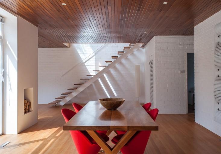 个性的楼梯--英国海边别墅 Christine Chang Hanway