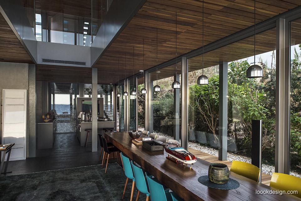 地中海海平线的美景高档别墅设计