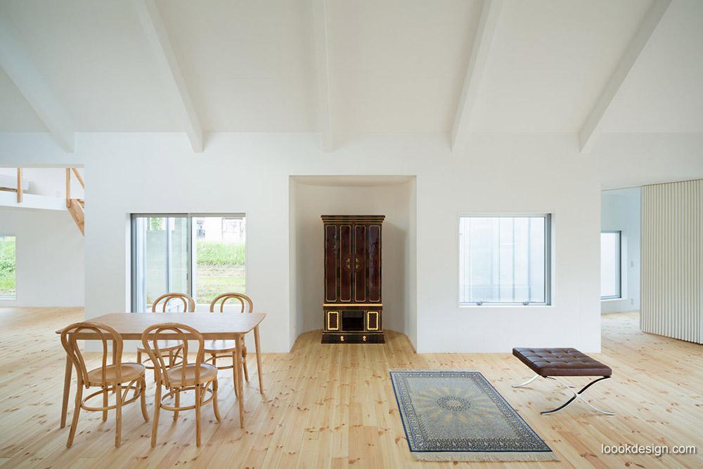 【建筑】与景交融--稻田中N住宅