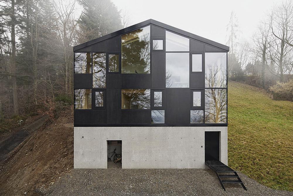 高地上奇特大胆的建筑改造。