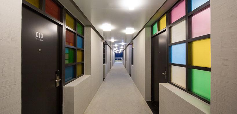 工人宿舍华丽变身色彩斑斓青年旅社