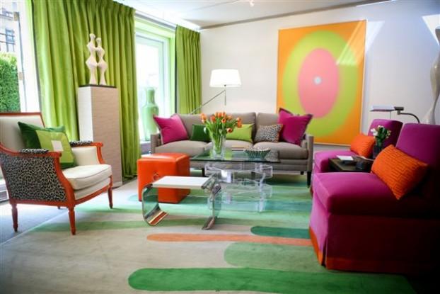 家居室内陈设布艺窗帘给家温情的时尚生活