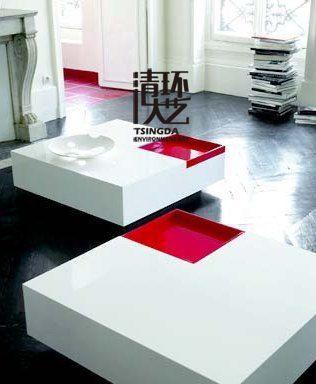 客厅茶几陈列设计原则 让会客厅风水更宜人
