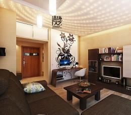 家庭客厅软装饰设计中灯饰的使用攻略