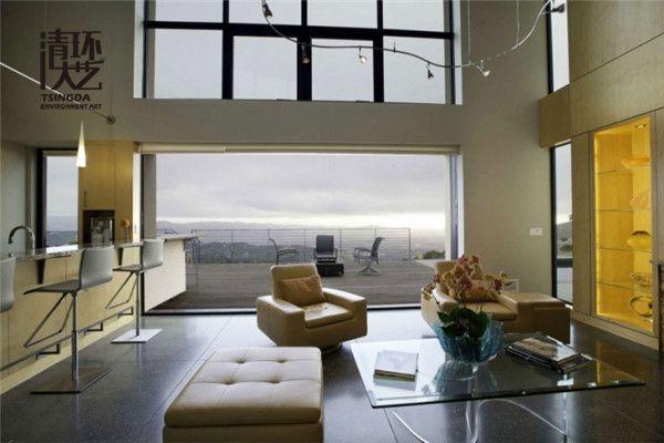 家庭软装设计中利用魅力窗帘让空间大变身