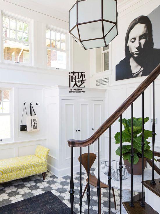 客厅植物陈设设计 把好风水带进家门