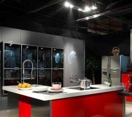 家庭装饰设计中厨房家具色相的诱惑