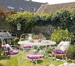 家庭软装设计中如何打造花园餐厅