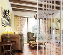 家庭软装设计中活动隔断墙的特点优势