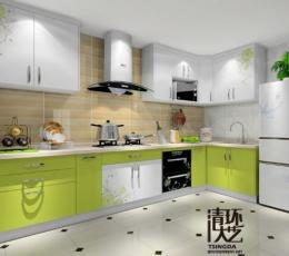 家庭软装设计中如何选择厨房家具色彩