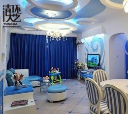 家庭软装设计中经典蓝色搭配
