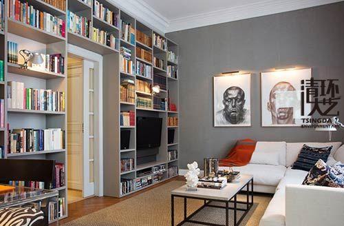 书房风水陈列设计 让您事业节节高