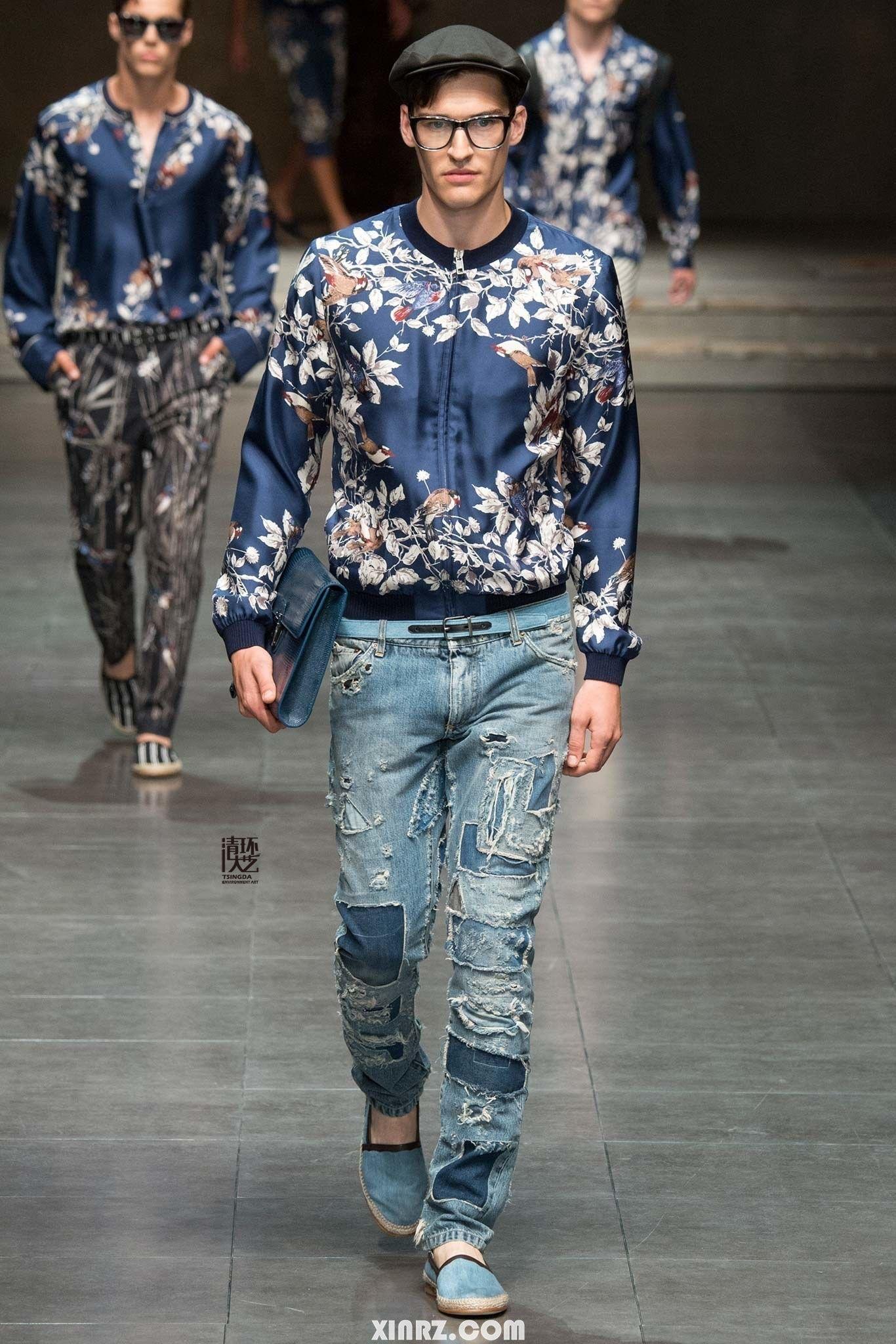 Dolce & Gabbana 2016 春夏男士系列