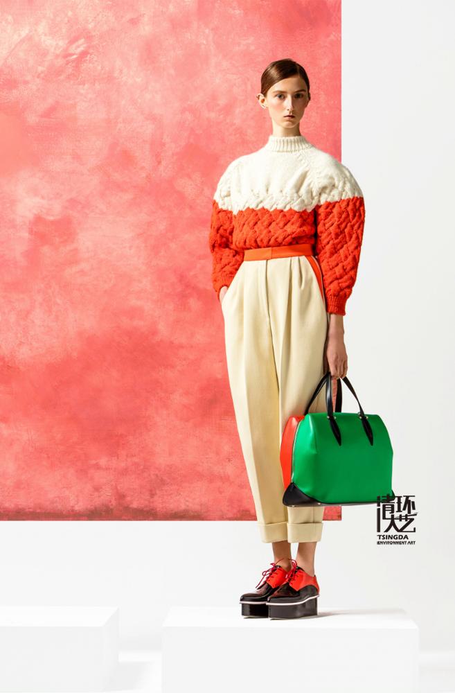 【软装色彩】Delpozo2016春季时装秀