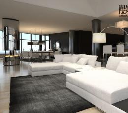 大居室家庭软装设计 让空间大气温馨又浪漫