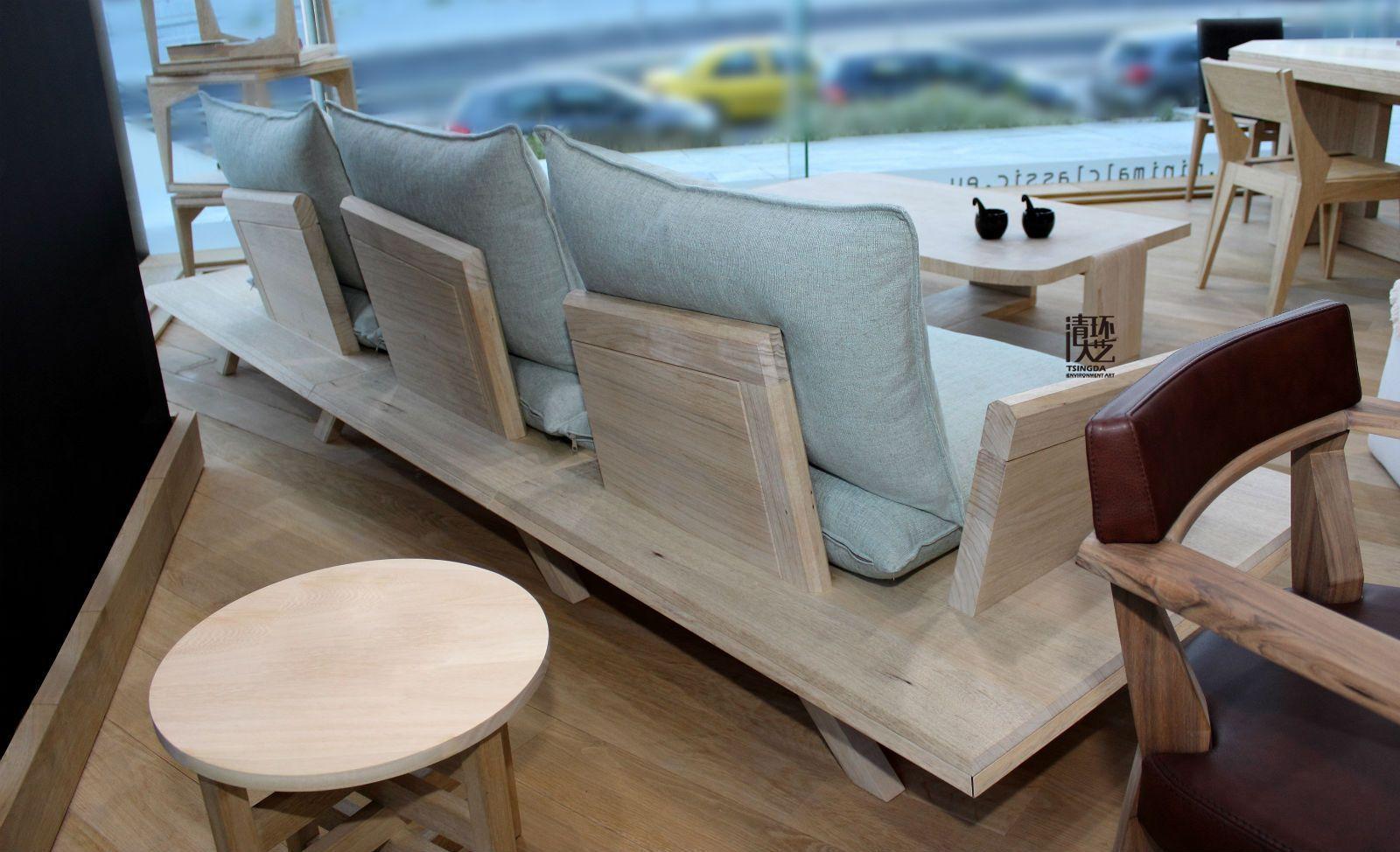 希腊当代设计师木制座椅设计