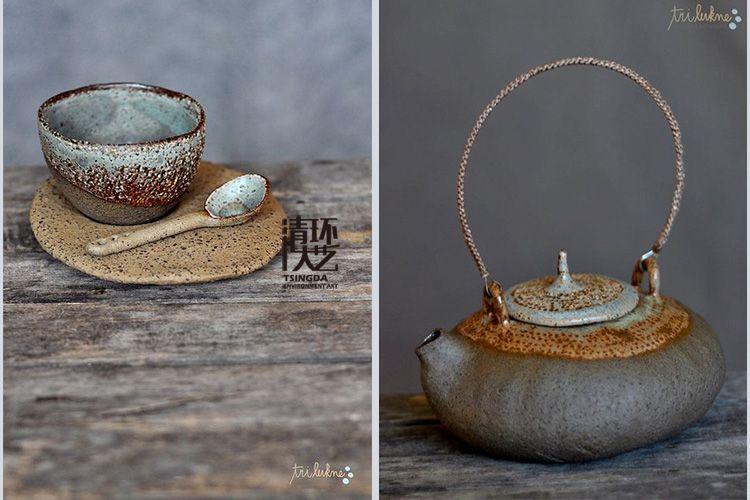 【软装饰品】陶艺家Tri lukne的诚意手作