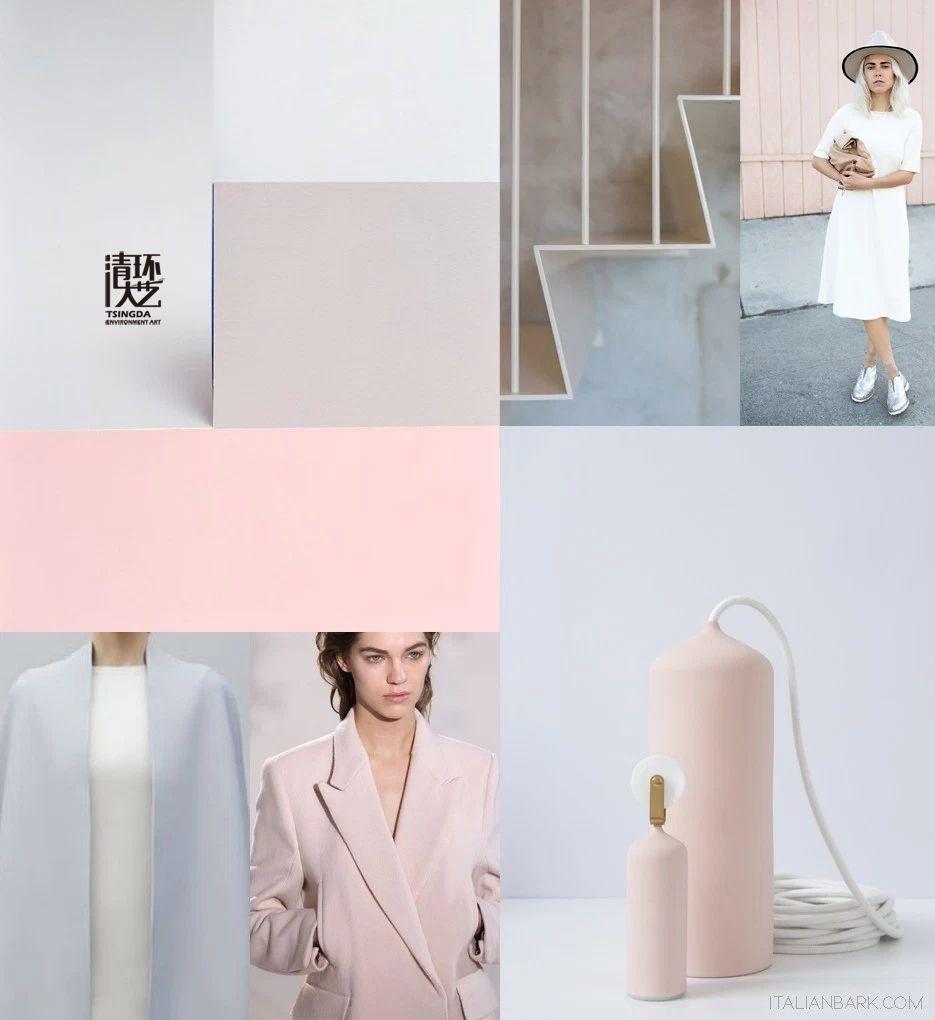 Rose Quartz(蔷薇石英)&Serenity(静谧蓝)