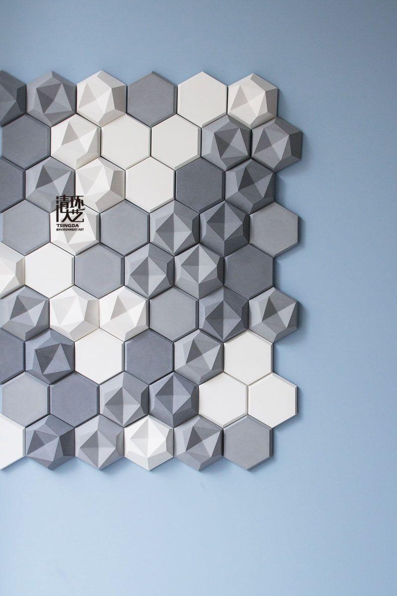 水泥墙砖品牌KAZA concrete的时尚创意