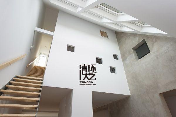 荷兰小别墅楼梯设计