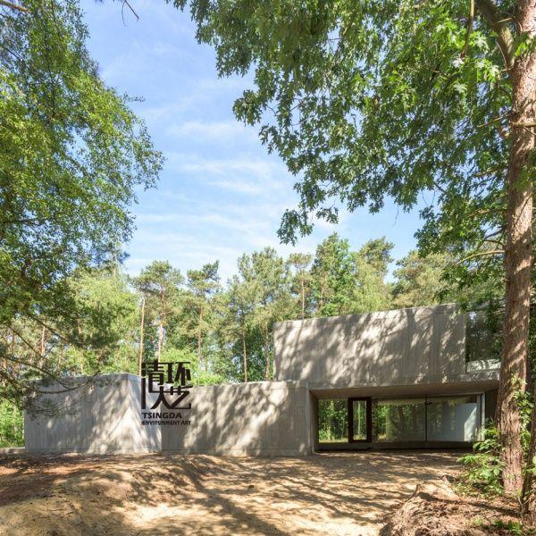 创建比利时林玻璃走廊景观设计