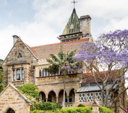 澳大利亚嘉年华公司的首席执行官的私家花园
