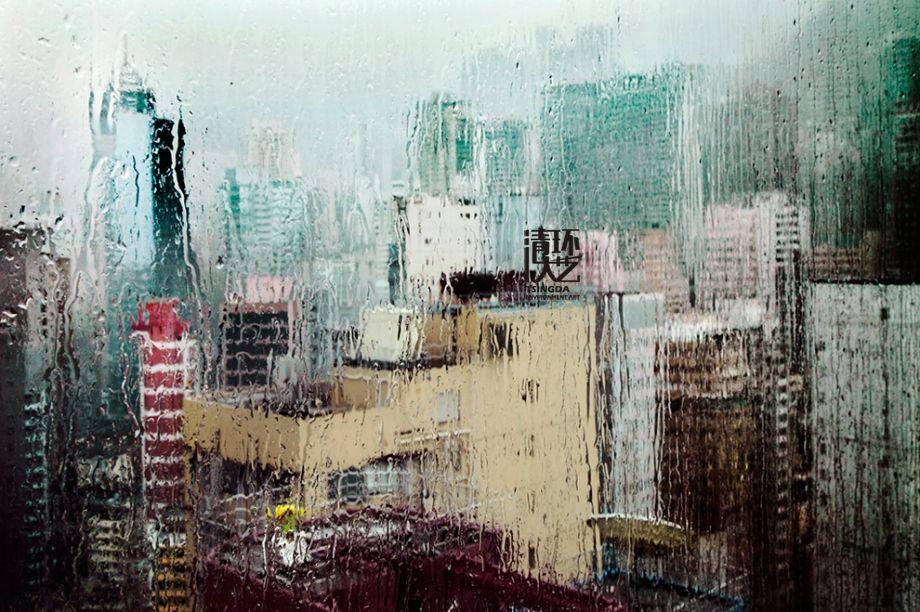 【摄影软装】雨中的城市