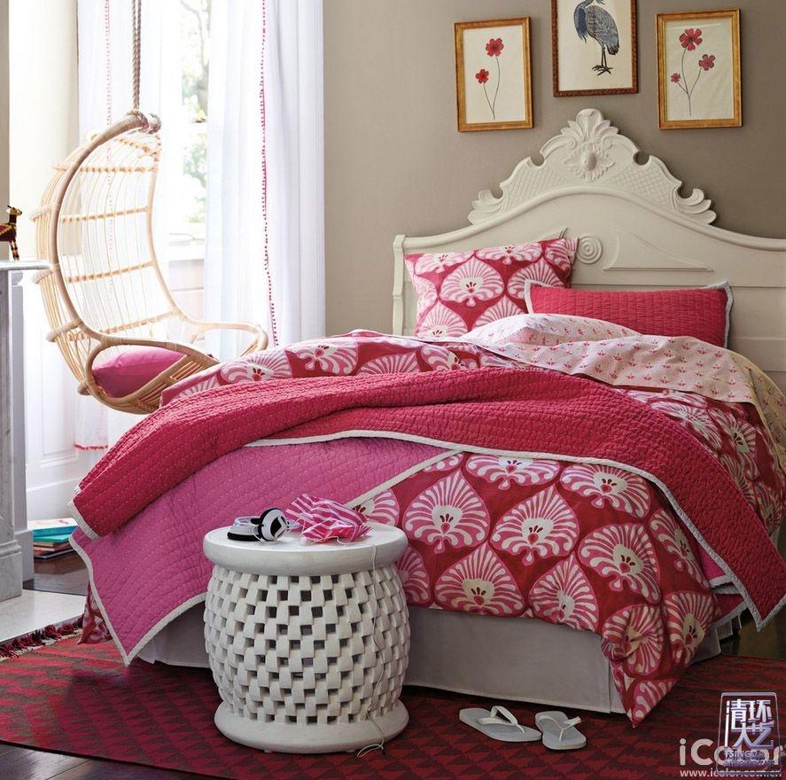 轻松玩转彩色系——colorful卧室
