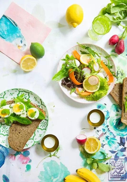 夏天是什么味道?水果色的家你爱吗