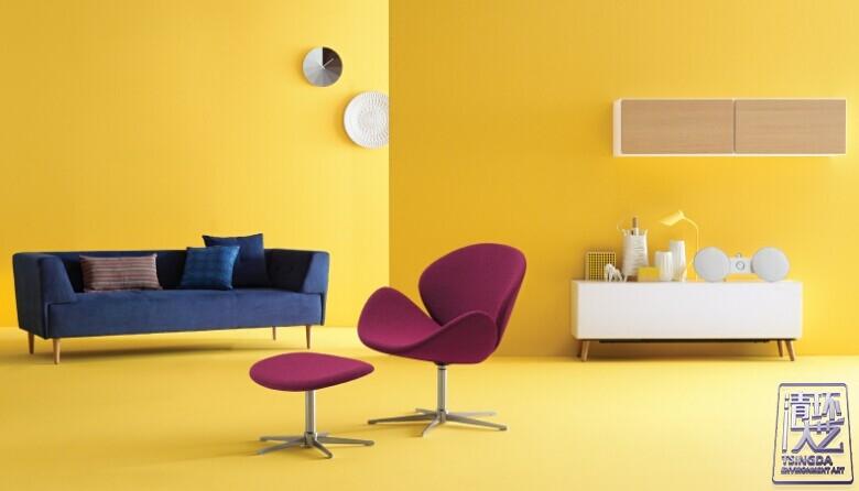 空间配色学问高  选对颜色调情绪
