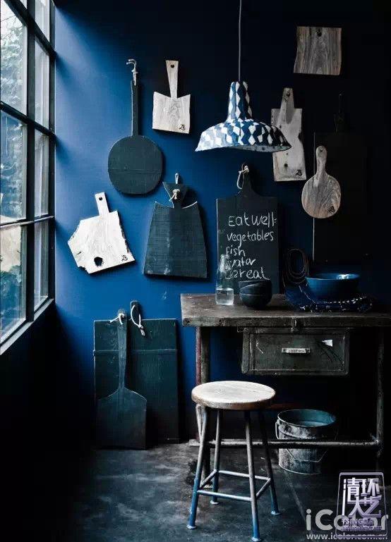 """看""""蓝""""精灵如何装扮美家  18款室内蓝色运用案例"""