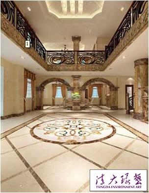 华丽装饰案例 欧式奢华别墅