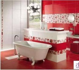色彩碰撞时尚 8款卫生间装饰设计效果