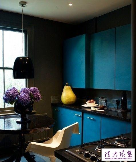室内颜色设计,自然和谐的色彩层次