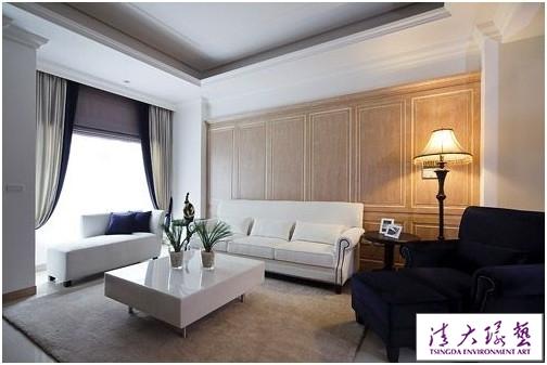 美式古典风格 优雅的线面空间