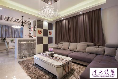 条纹控用最少钱打造最美家 百平婚房装饰超多网购