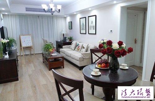 85平现代简约风格小户型两室两厅 砸两面墙为扩容
