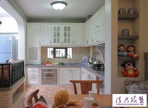 田园简约风格厨房 专为居家辣妈打造