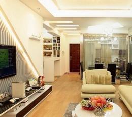 时尚丽人设计简欧时尚家 九万装完美三室两厅婚房