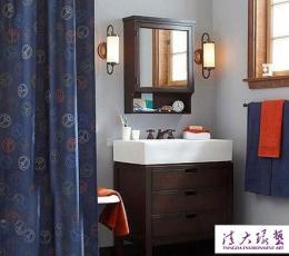 营造灵动卫浴间 5个蓝色元素