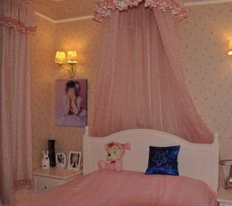 80后小资三室两厅超粉嫩公主屋装饰设计