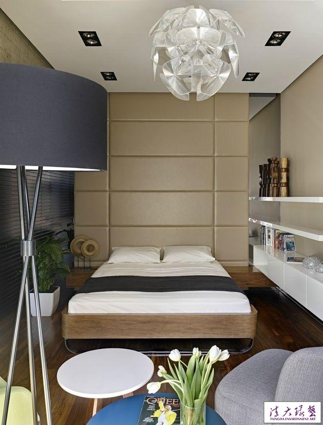【高清图】34平米创意型小户型单身公寓设计