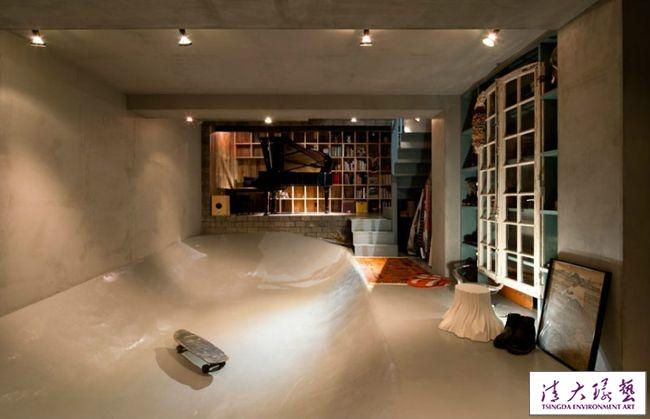 这是家还是滑板公园?个性另类傻傻分不清楚